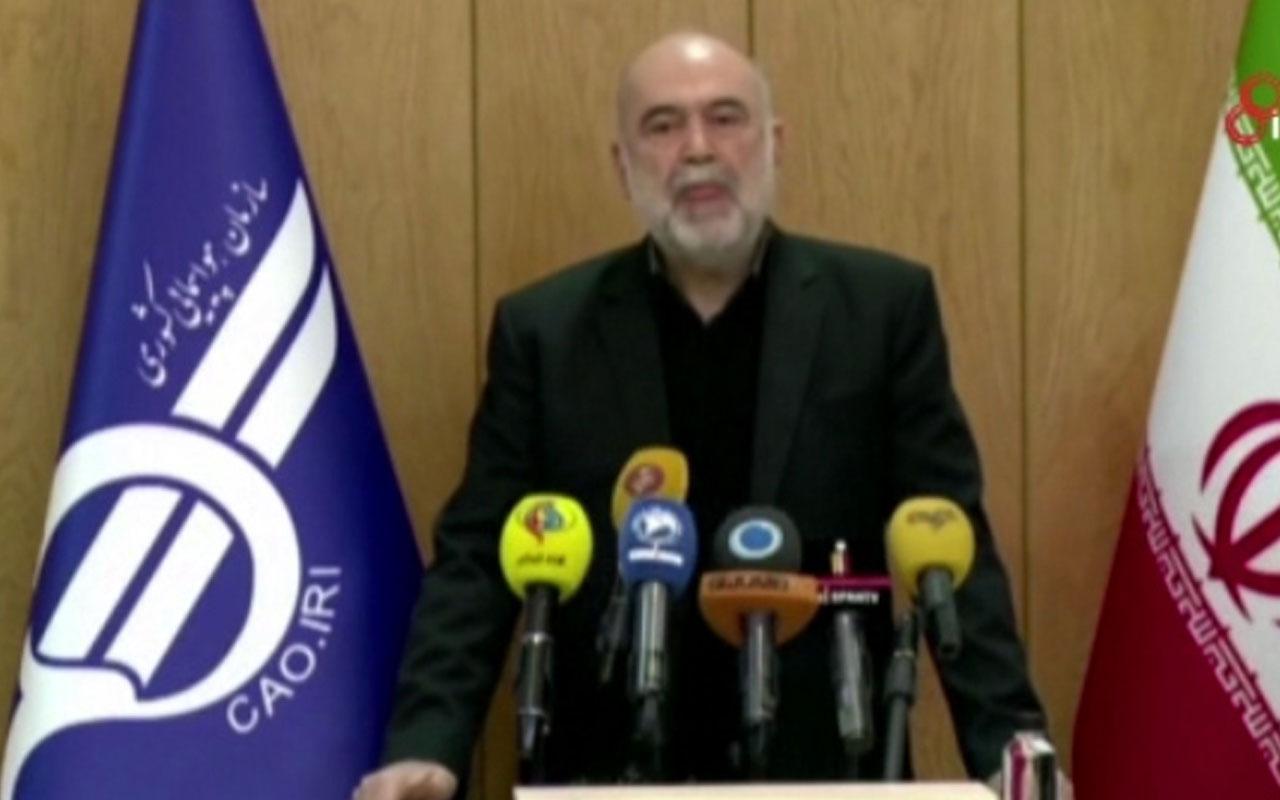 """İran Sivil Havacılık Kurumu Başkanı: """"Uçak kesinlikle füzeyle düşmedi"""""""