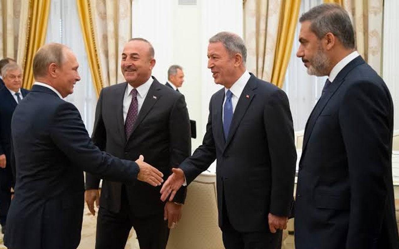 MİT Müsteşarı Hakan Fidan ve iki bakan Moskova'ya gidiyor