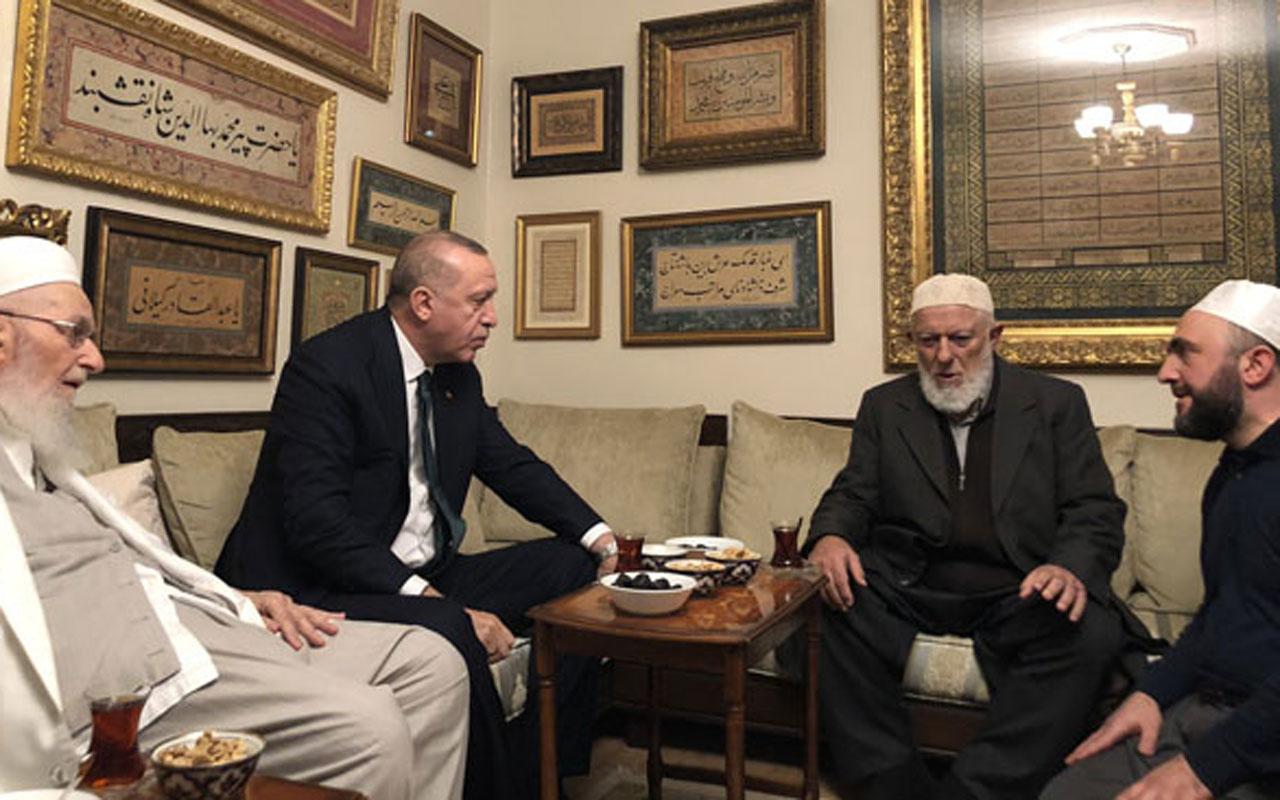 Cumhurbaşkanı Erdoğan İsmailağa cemaatine beklenmedik ziyaret
