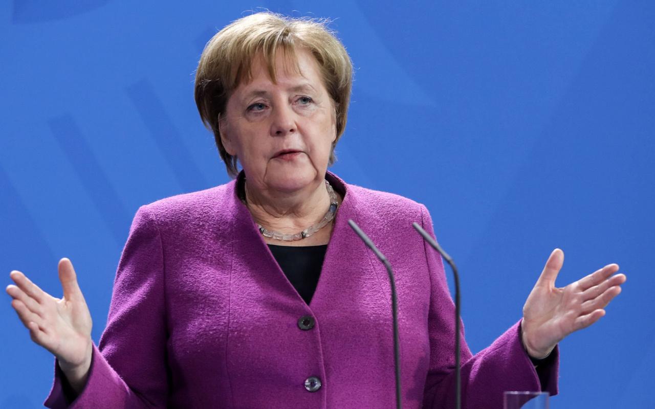 Angela Merkel Betrunken