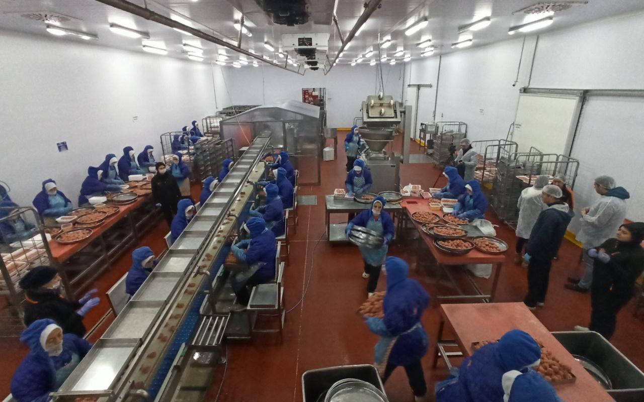 Türkiye'nin tek köfte fabrikası Bursa'da