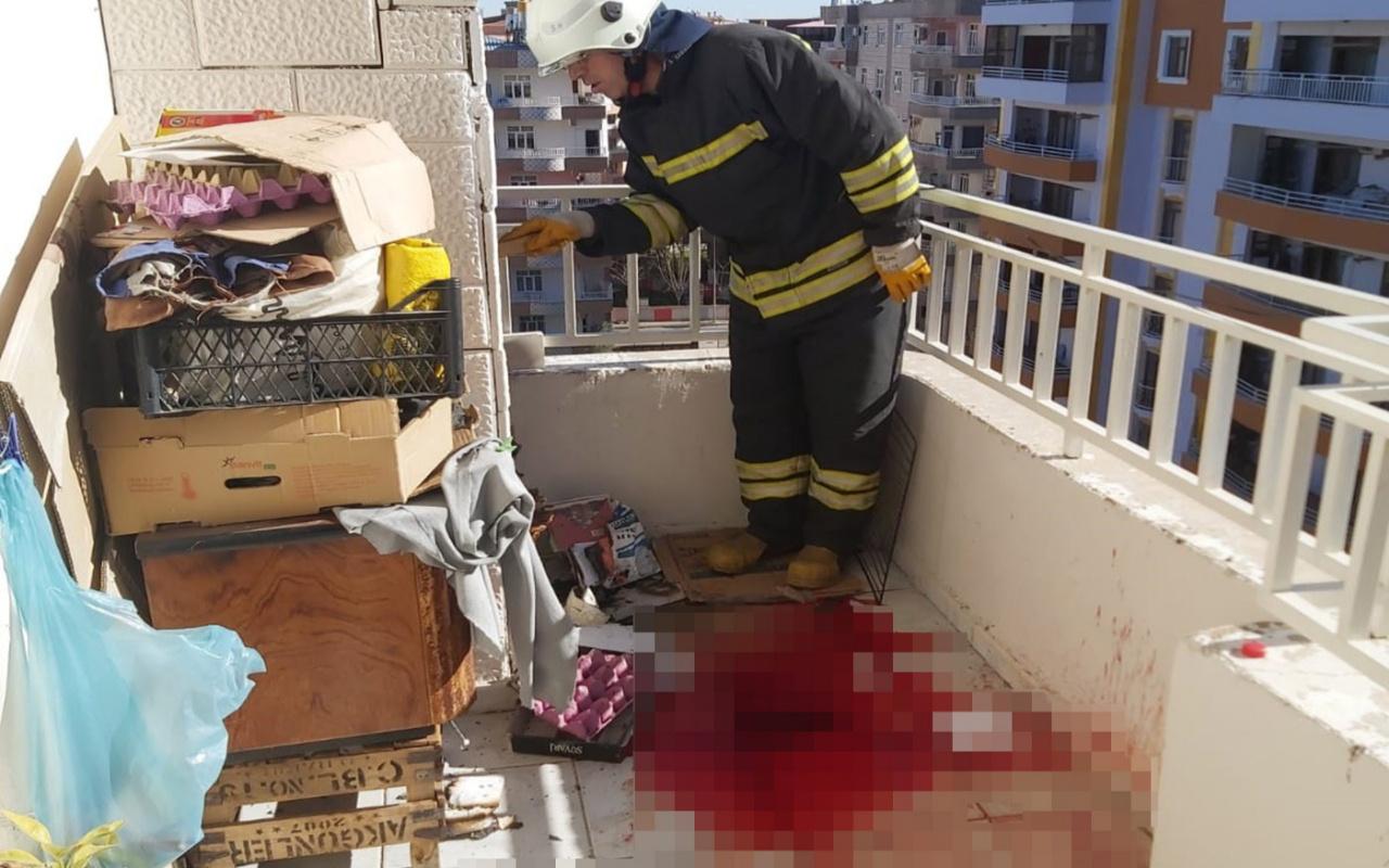 Balkonda mangal yapacaktı biri ağır üç kişinin yaralanmasına sebep oldu