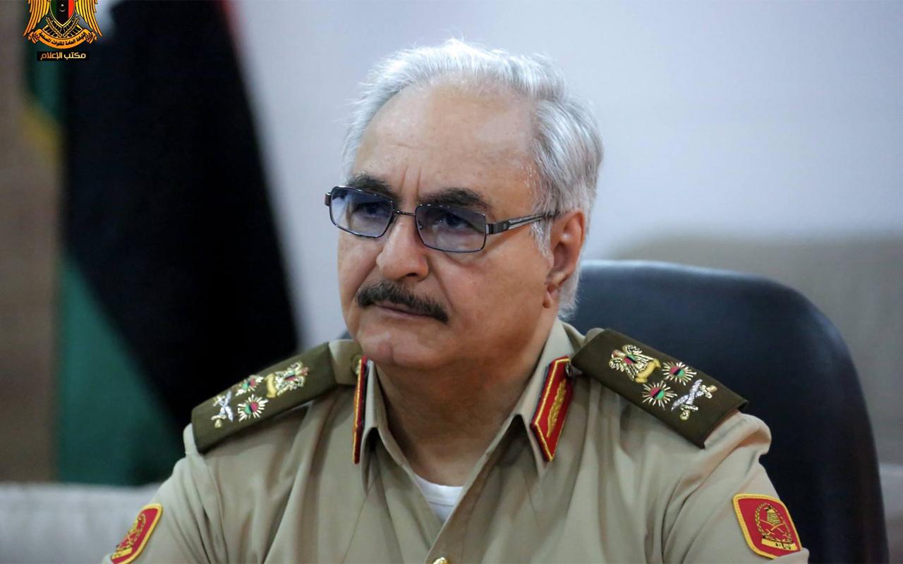 Libya'da son dakika gelişmesi! Hafter güçleri havaalanını vurdu