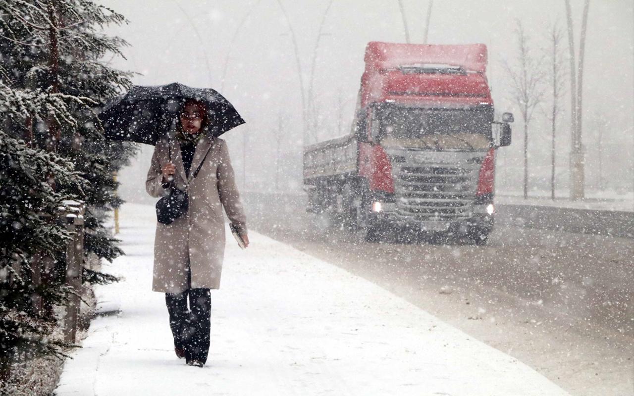 Tekirdağ haritalı 15 günlük hava durumu tahmini kar başladı