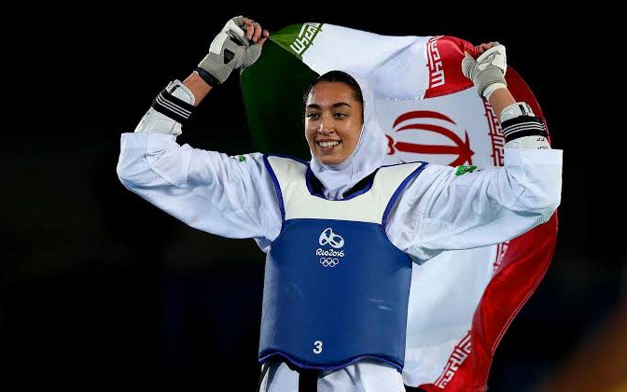 İranlı sporcu Kimia Alizadeh ülkesini terk etti! İkiyüzlülüğün yalanların...