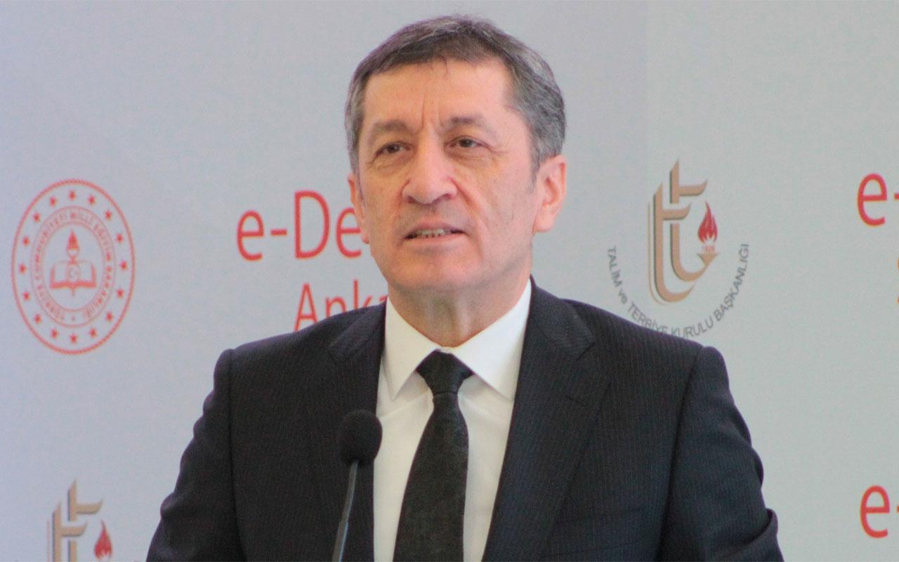 Milli Eğitim Bakanı Ziya Selçuk açıkladı 2020'nin ilk yenilikçi icraatı