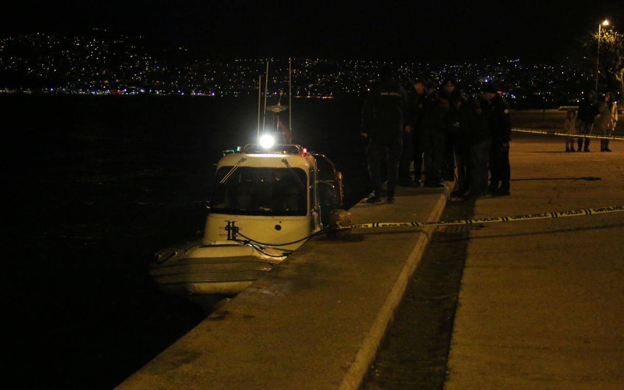 İstanbul Sarıyer'de denizde ceset bulundu