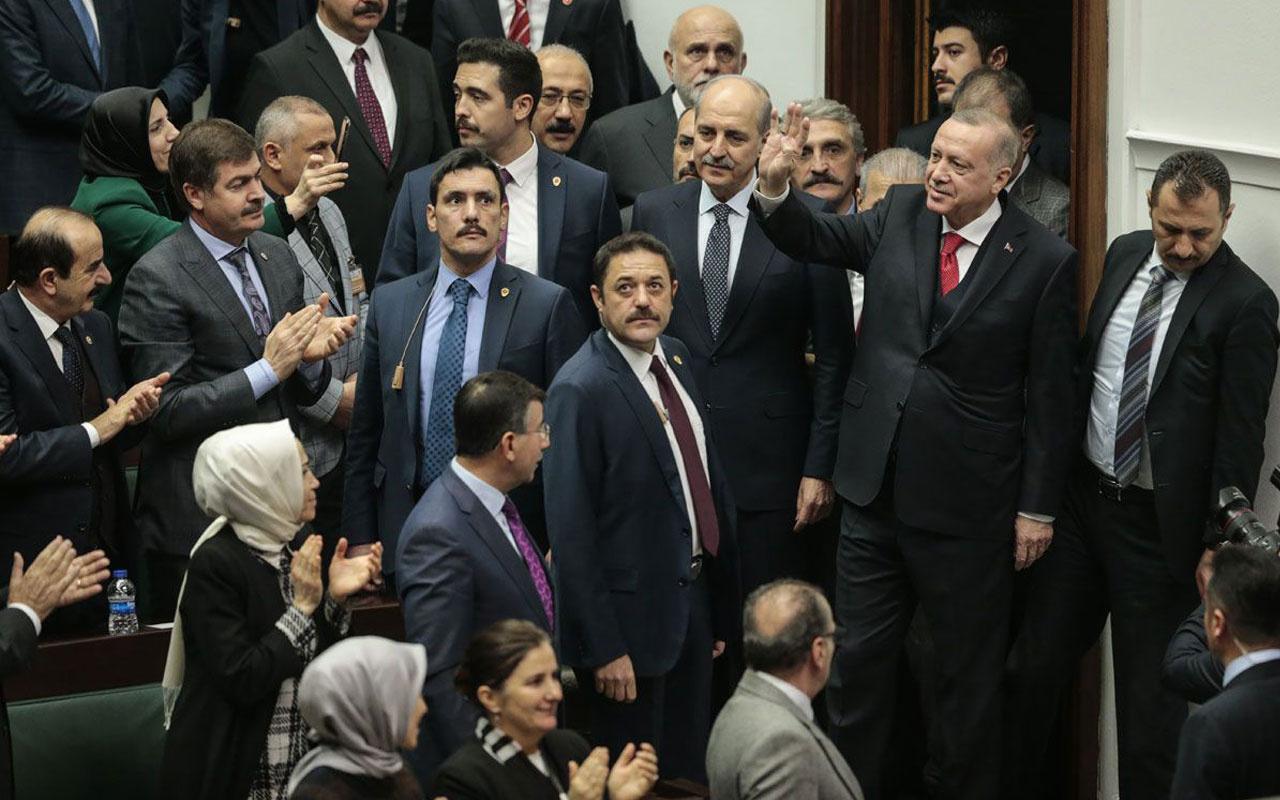 Erdoğan kürsüye davet etti AK Parti grubu şehit kızını ayakta alkışladı