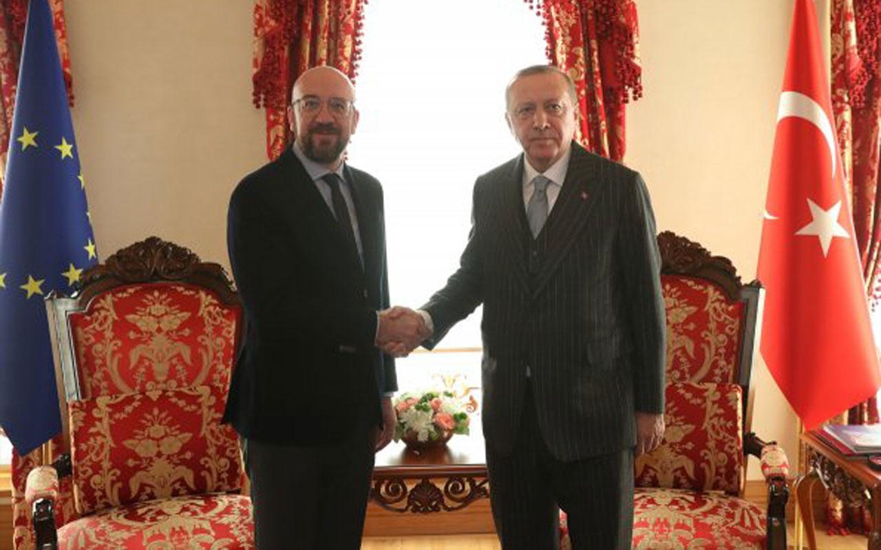 Erdoğan'dan ABKonseyi BaşkanıCharles Michel'e tokat gibi sözler