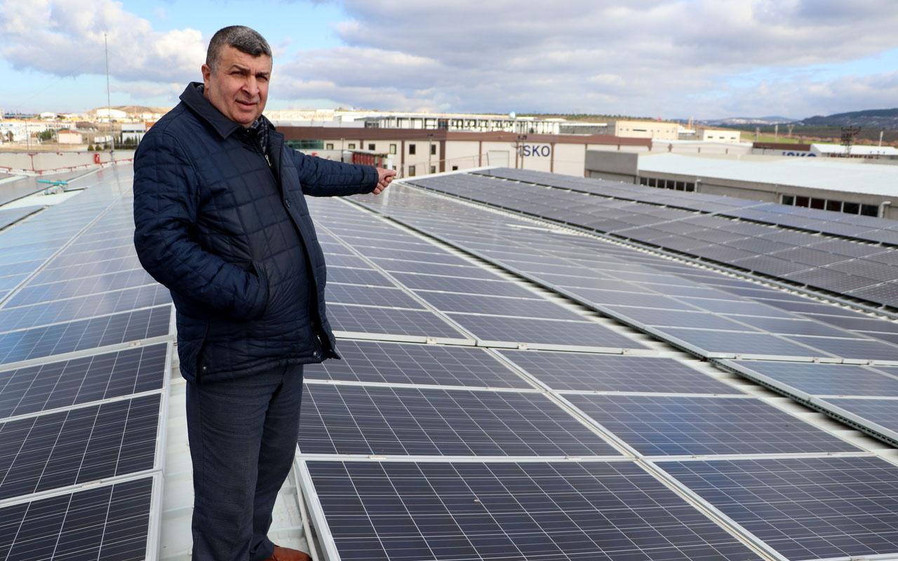 Fabrikasının çatısına ikinci fabrikayı kurdu! Aylık geliri 100 bin lirayı buldu