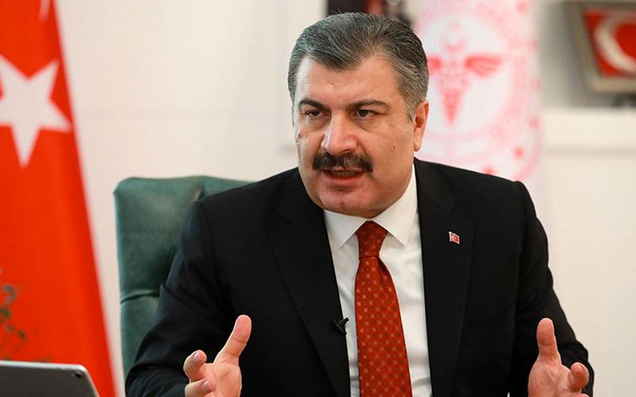Sağlık Bakanı Fahrettin Koca'dan anestezi ilacı iddiasına ilişkin açıklama
