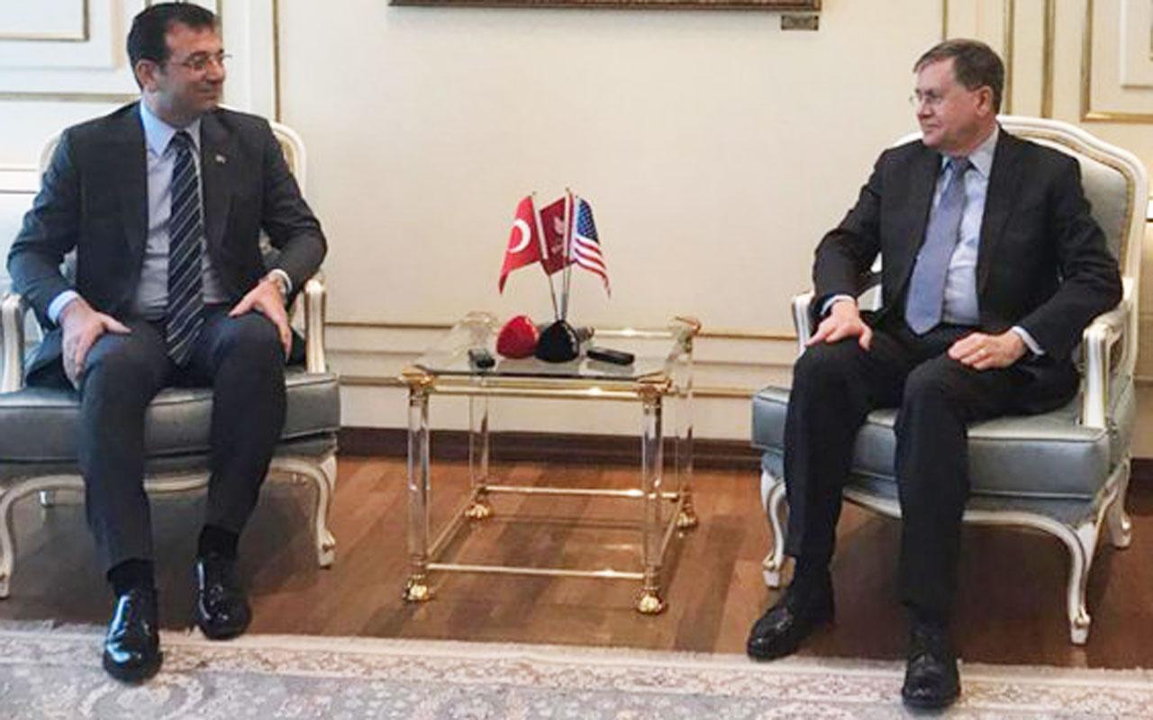 ABD Ankara Büyükelçisi'nden İmamoğlu'na ziyaret