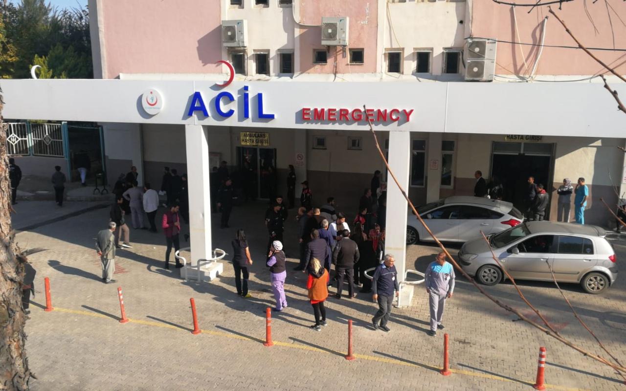 Mersin'in Tarsus ilçesinde devlet hastanesinde korkunç patlama! Çok sayıda yaralı var