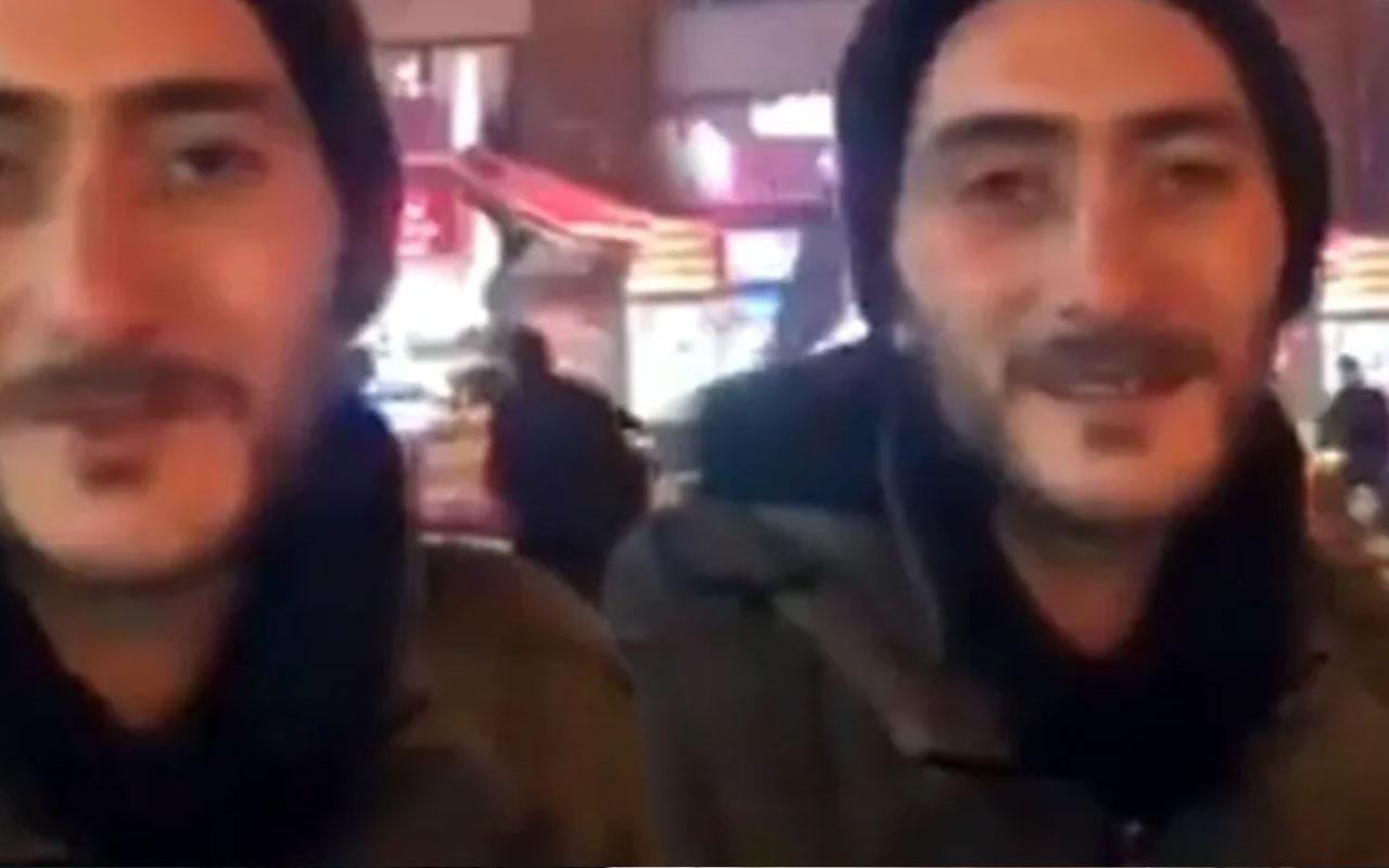 Sosyal medya sokakta kalan Hasan'ı konuşuyor! Allah beni sınıyor