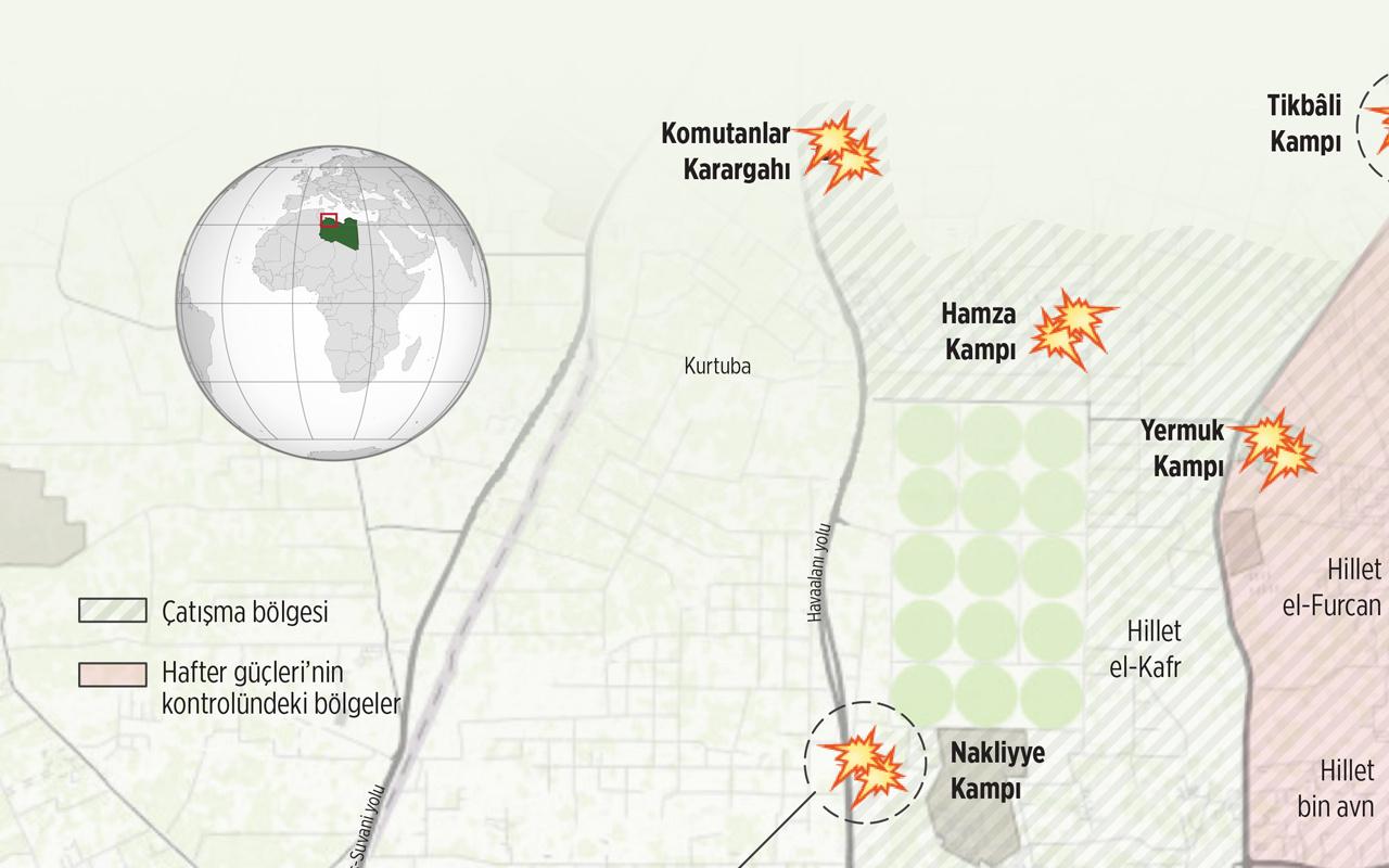 Libya'dan son dakika gelişmesi! Hafter saldırı hazırlığı yapıyor