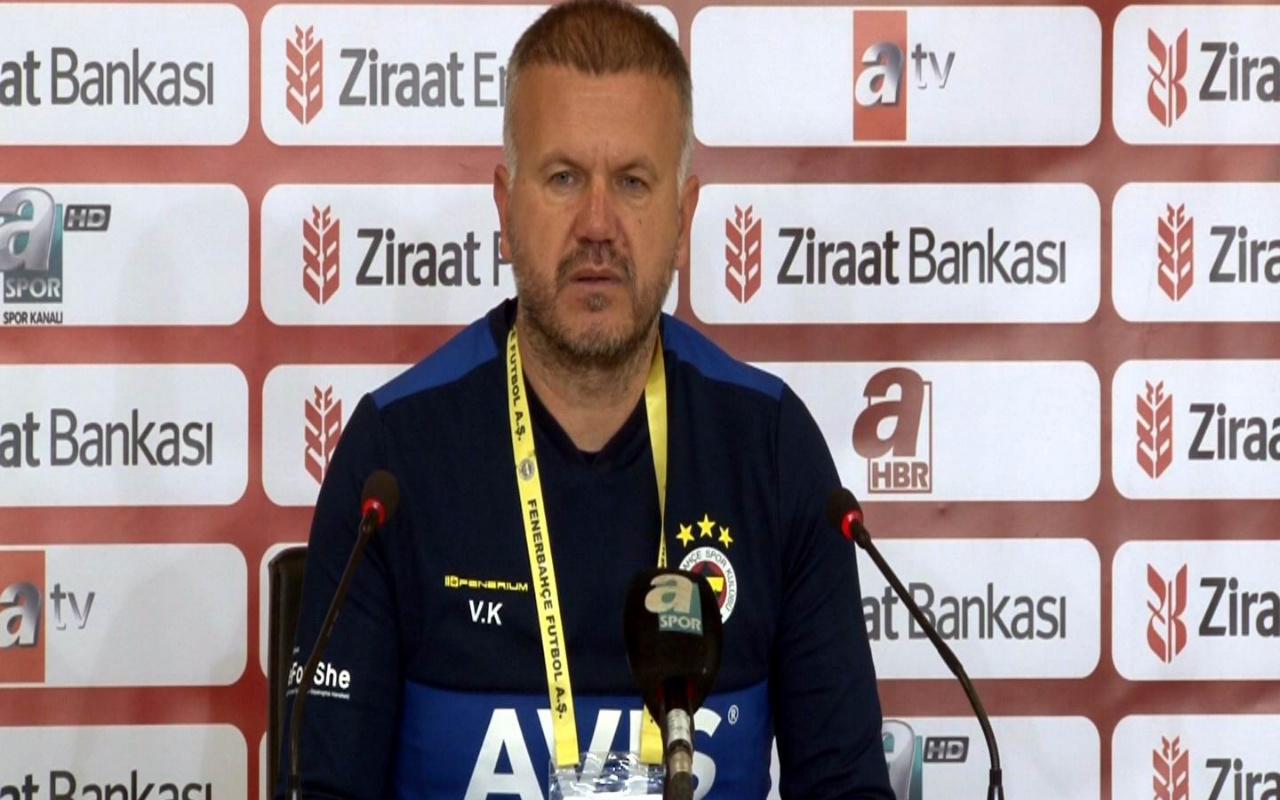Volkan Kaza: Kadıköy'deki maç daha farklı olacaktır