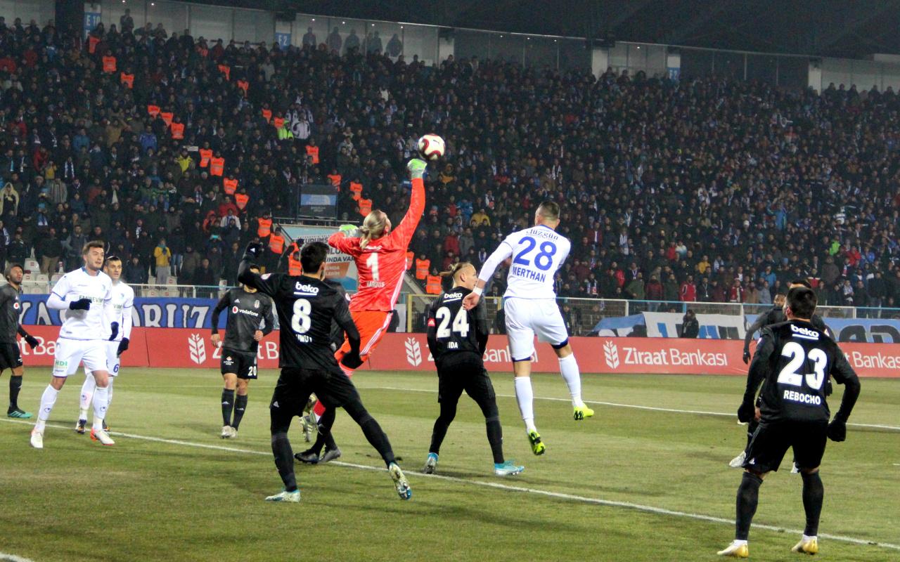 BB Erzurumspor Beşiktaş Türkiye Kupası maçı golleri ve geniş özeti