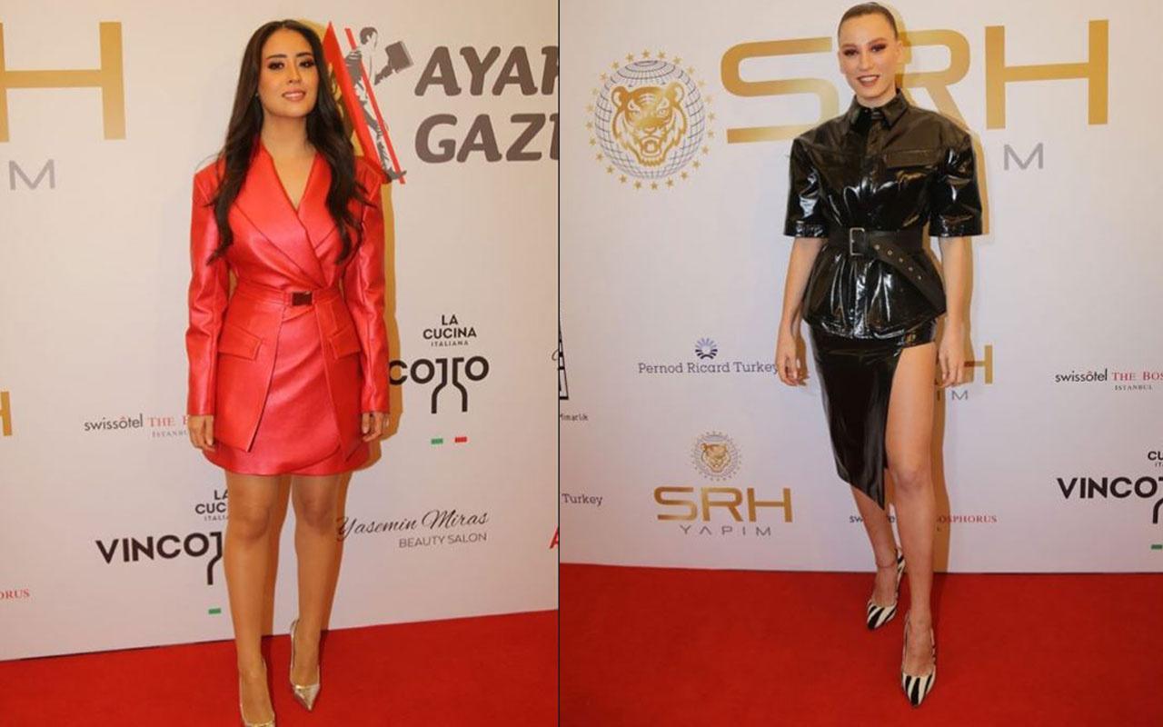 Ayaklı Gazete TV Yıldızları Ödülü gecesinde ünlüler şıklıklarıyla damga vurdular!