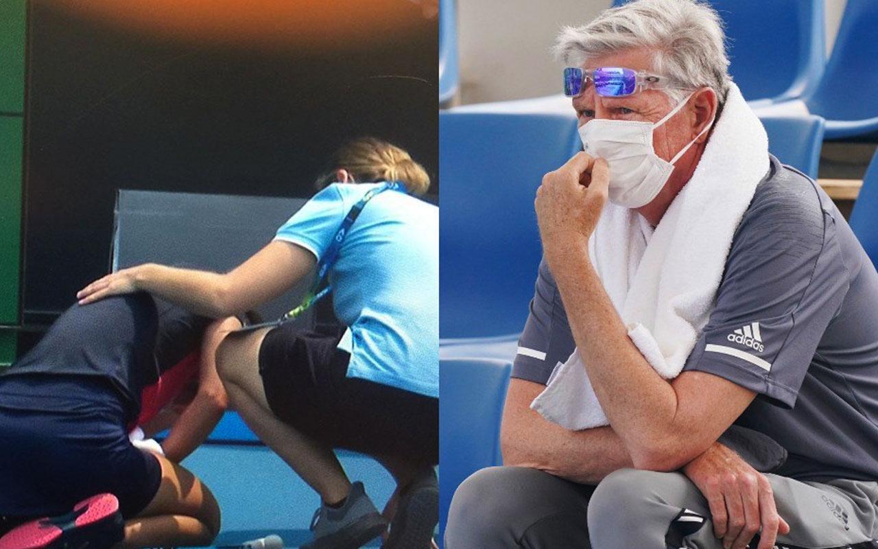 Avustralya'da yangınların yol açtığı hava kirliliği tenisin önüne geçti
