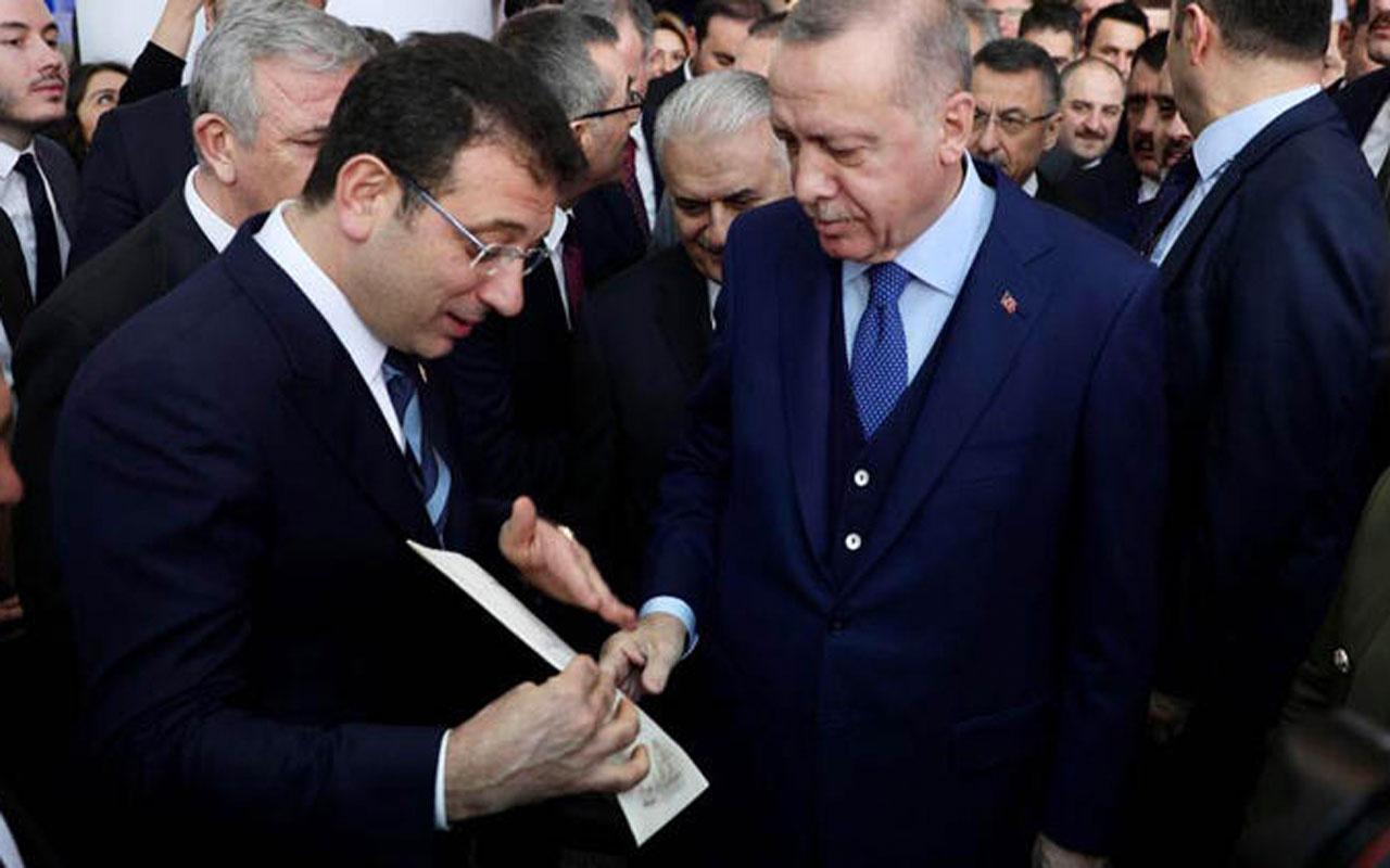 Ekrem İmamoğlu Cumhurbaşkanı Erdoğan'a 4 sayfalık mektup verdi