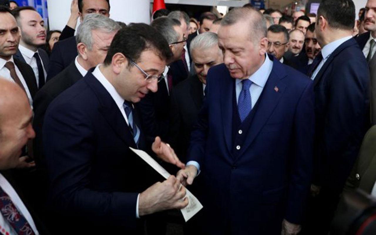İmamoğlu'nun raporu Erdoğan'ın kararını etkilemedi! Yakında başlatıyoruz