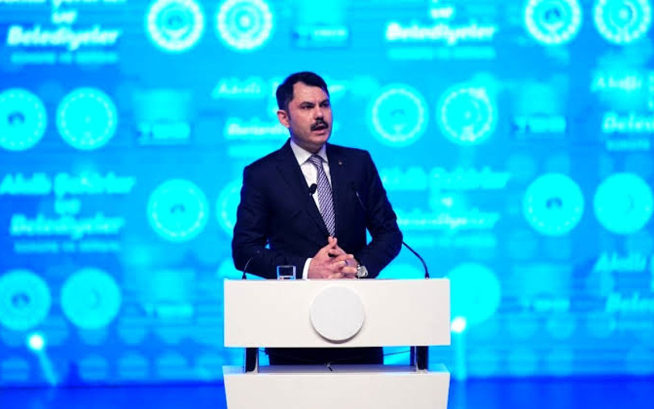 Bakan Murat Kurum yüzüne bakarak dedi! Ekrem İmamoğlu toplantıyı terketti