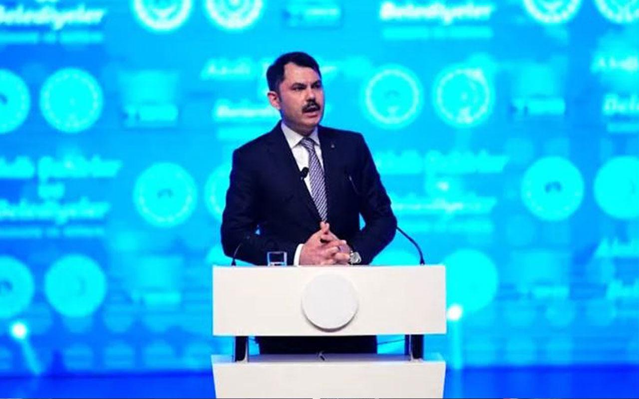 Bakan Murat Kurum İmamoğlu'na bakarak söyledi: Kanal İstanbul'u yapacağız