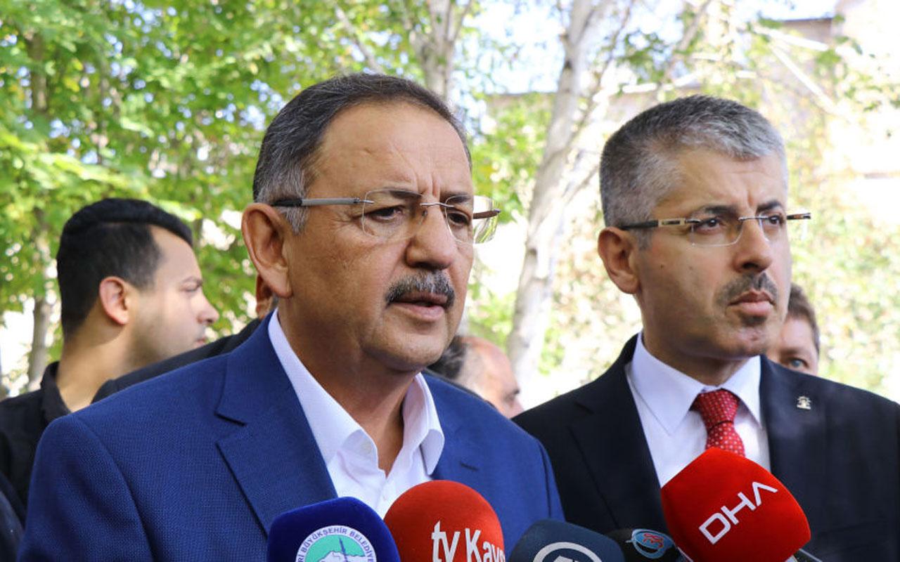 AK Parti Genel Başkan Yardımcısı Özhaseki duyurdu: Son rötuşlar yapılıyor
