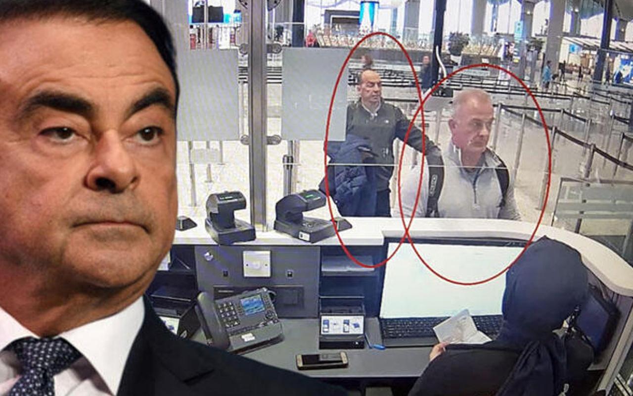 Nissan CEO'su Carlos Ghosn'un kaçışında yeni görüntüler ortaya çıktı