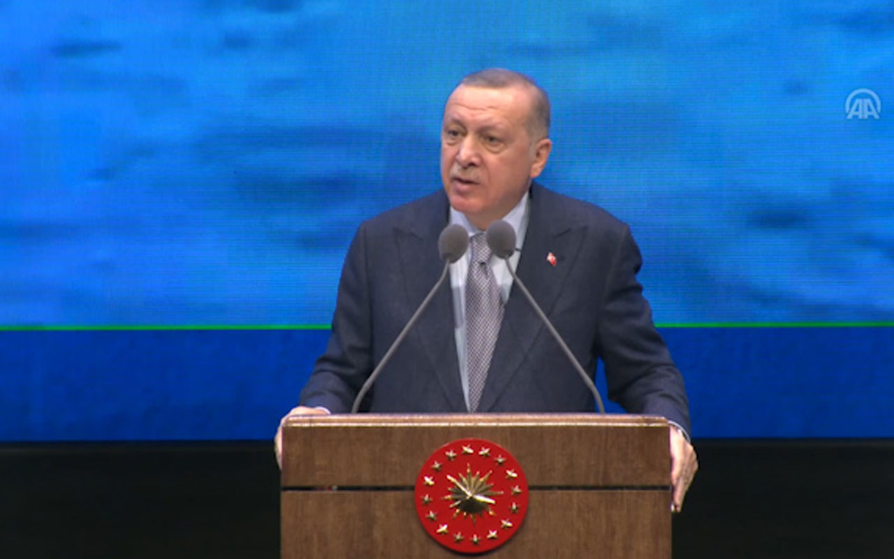 Cumhurbaşkanı Erdoğan Kanal İstanbul projesini başlatacaklarını duyurdu