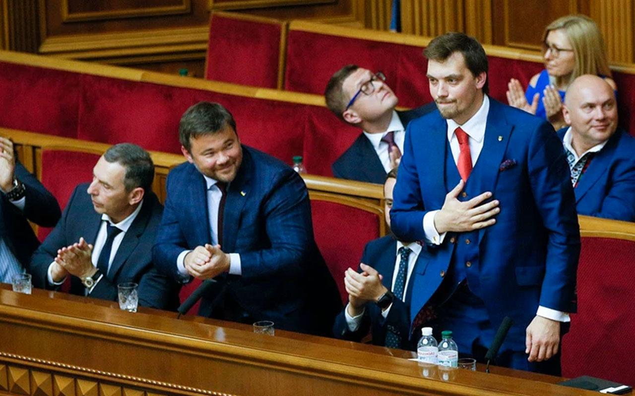 Ukrayna başbakanı Honcharuk istifa etti sebebi ses kaydı