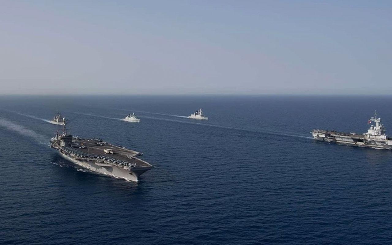 Fransa'dan dikkat çeken Ortadoğu hamlesi: Charles de Gaulle uçak gemisini yolluyor
