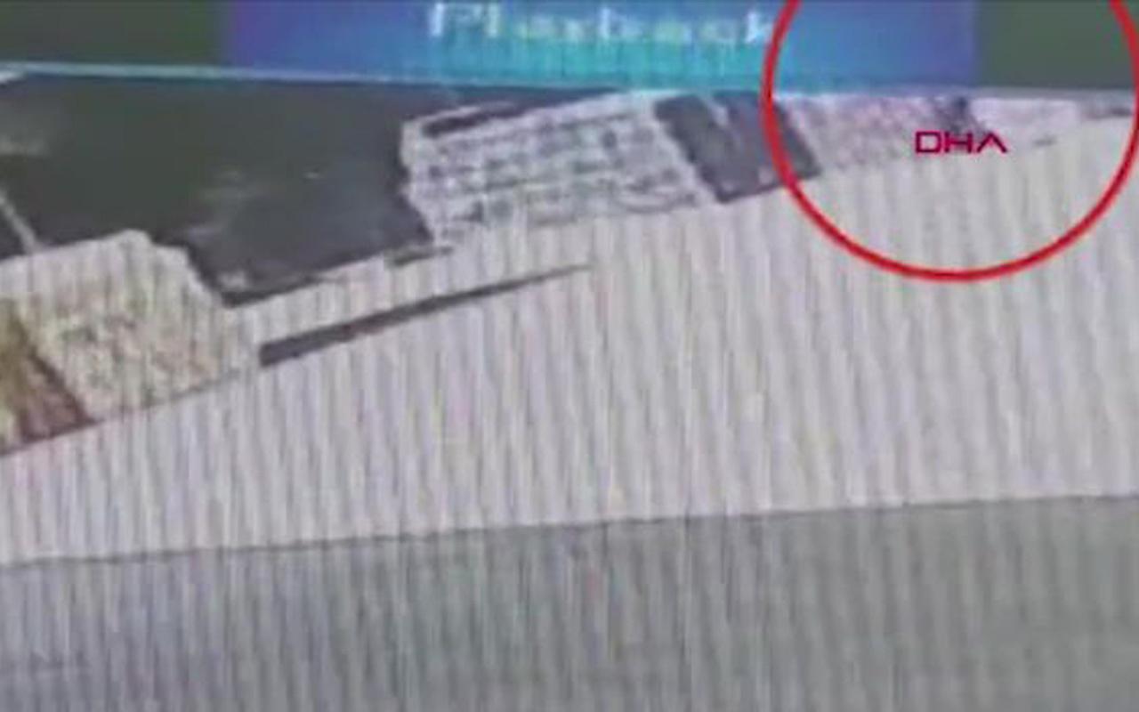 Isparta'da kamyonun ezdiği kadın esnafın feci ölümü kamerada