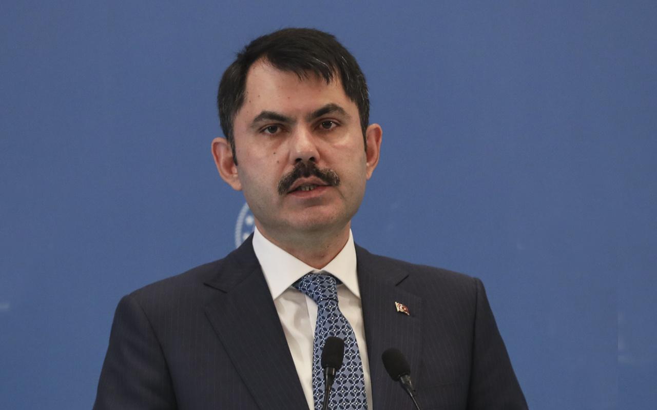 Çevre ve Şehircilik Bakanı Murat Kurum açıkladı Kanal İstanbul'la ilgili önemli gelişme