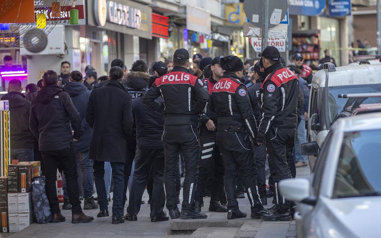 Ankara'da bir otelden ateş açıldı