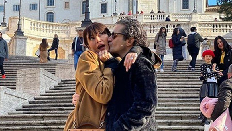Hazer Amani ile Sıla'dan Roma'da ilk balayı paylaşımı! Darısı sizin başınıza