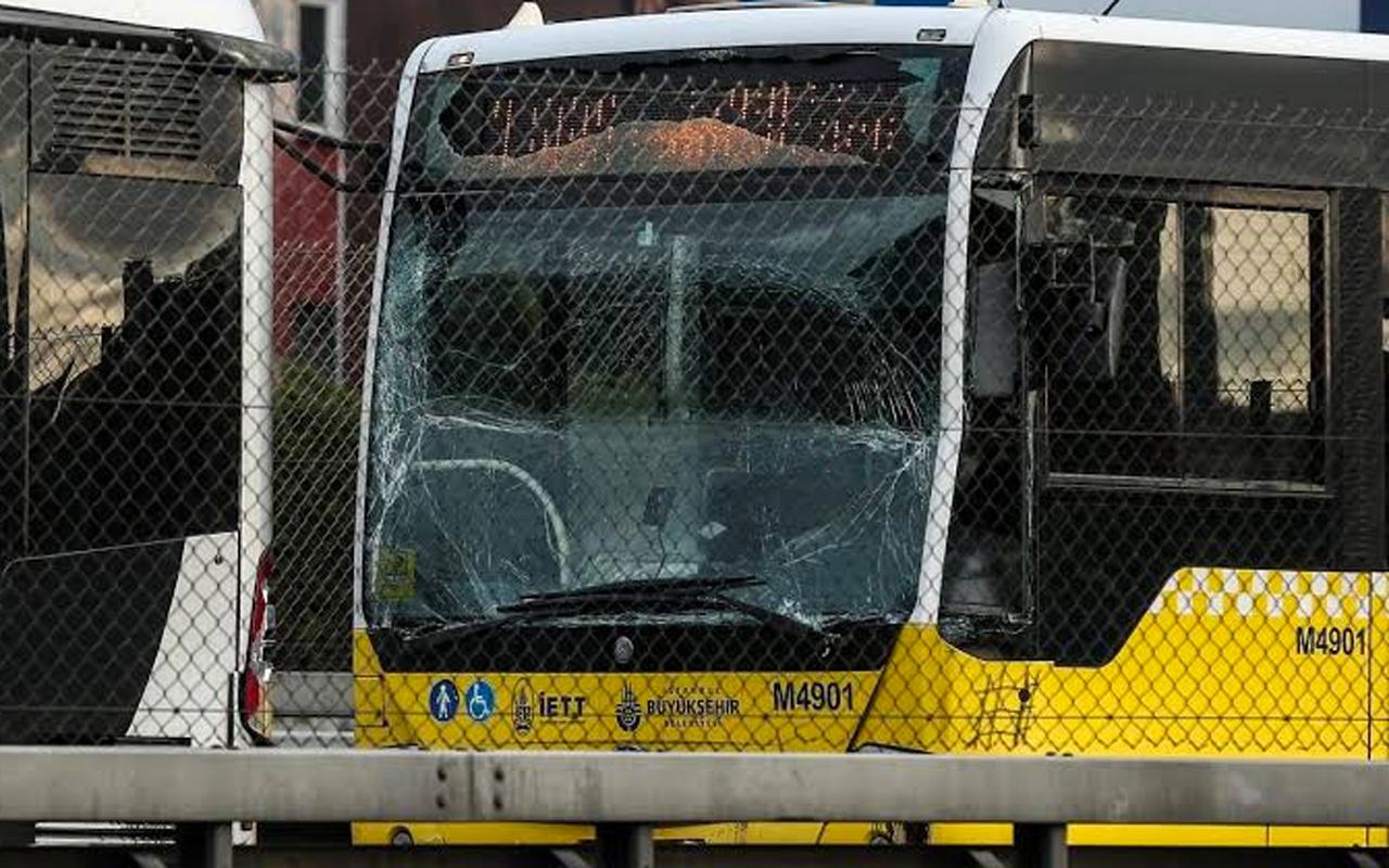 İstanbul Okmeydanı'nda metrobüs kazası! Sürücü yaralandı