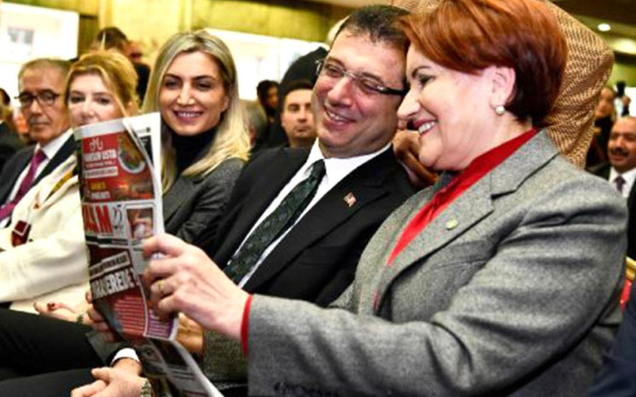 İYİ Parti'nin paneline damga vuran fotoğraf!