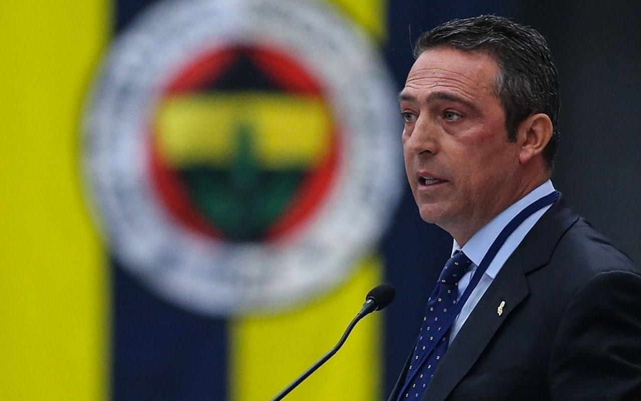 Fenerbahçe'de başkan Ali Koç'tan transfer açıklaması