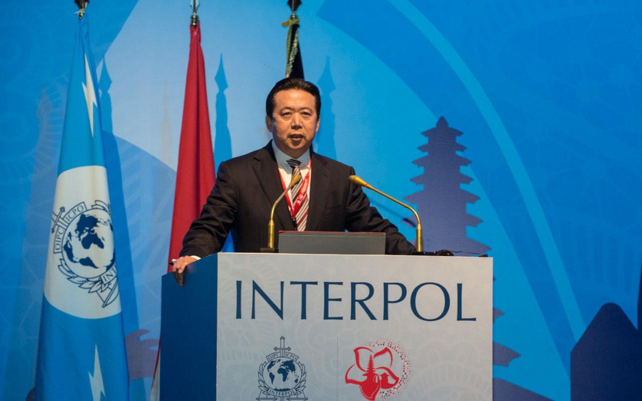 Eski INTERPOL Başkanı Meng Hongwei'e 13.5 yıl hapis cezası