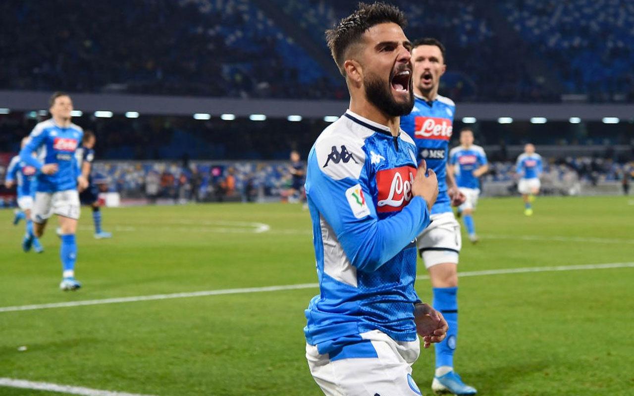 Napoli, son şampiyon Lazio'yu eledi