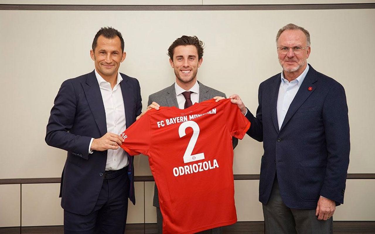 Alvaro Odriozola Bayern Münih'te
