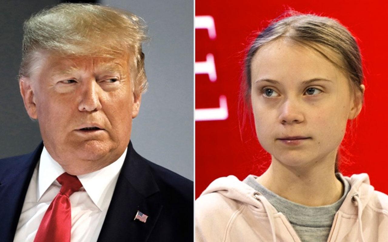 Donald Trump espirili gönderme: Greta beni yendi