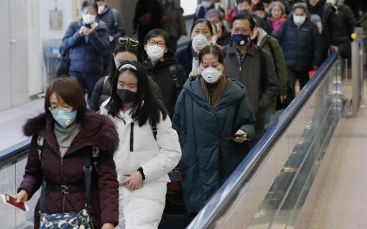 Panik yaratan görüntüler Koranavirüs hızlıca yayılıyor