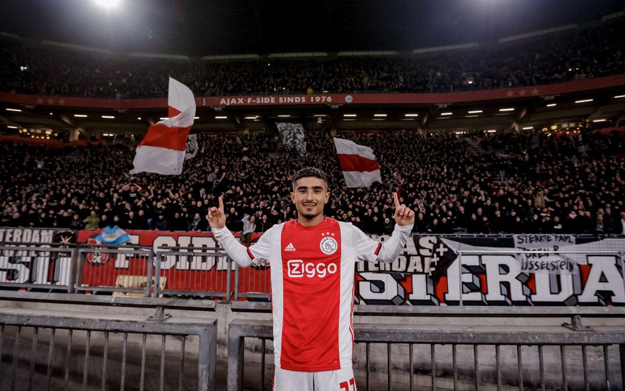16'lık Naci Ünüvar ilk maçında gol attı Ajax tarihine geçti