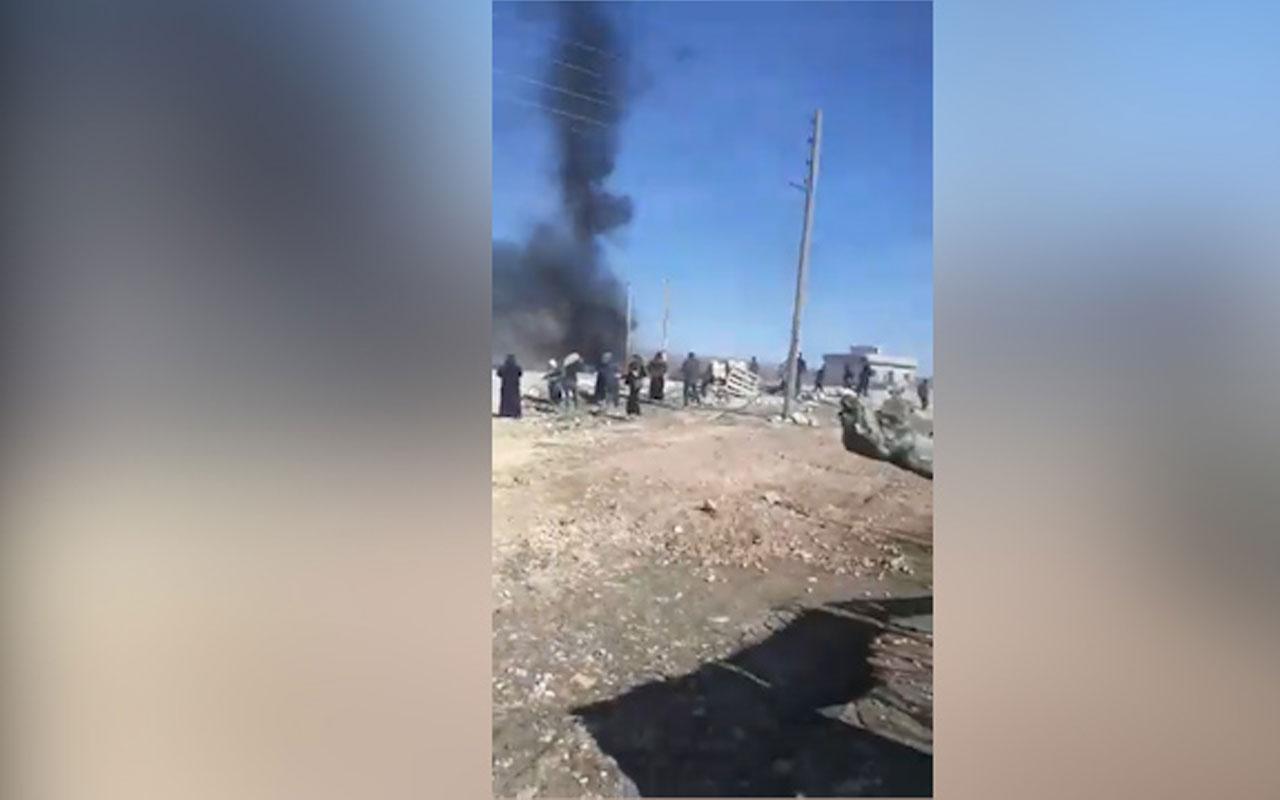 YPG destekçileri Kobani'de Türk askerine saldırdı