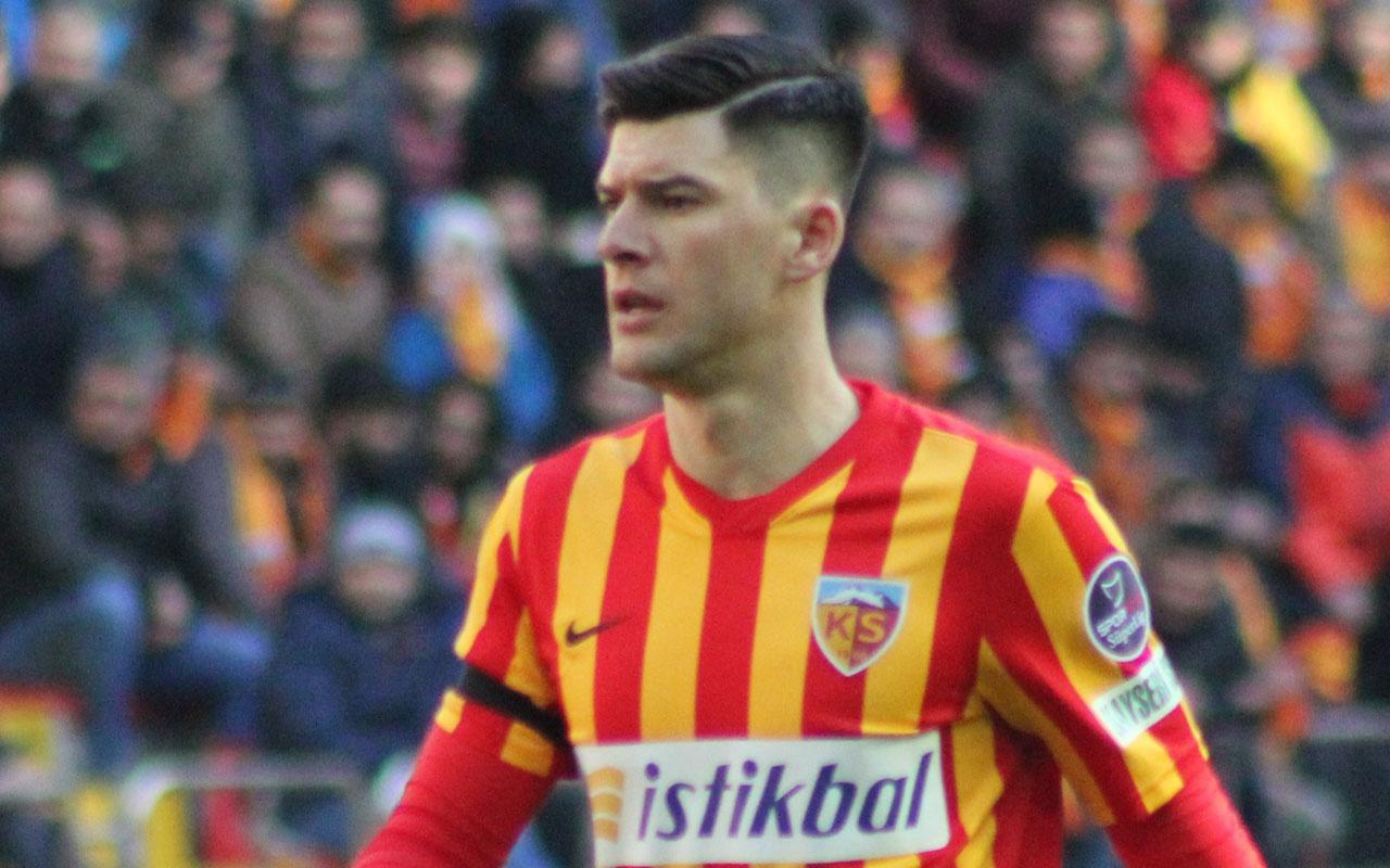 Cristian Sapunaru Kayserispor'da