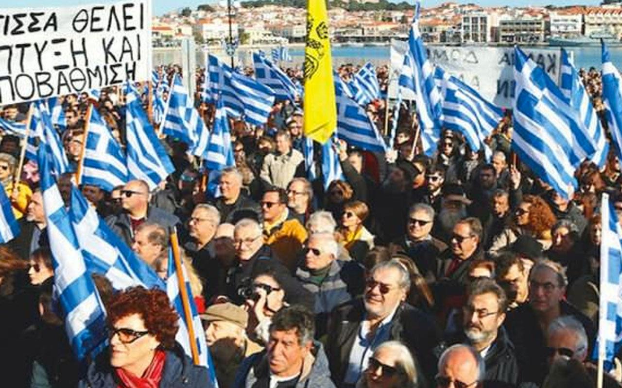 Yunanistan yeni bir greve teslim! Halk sokaklara döküldü