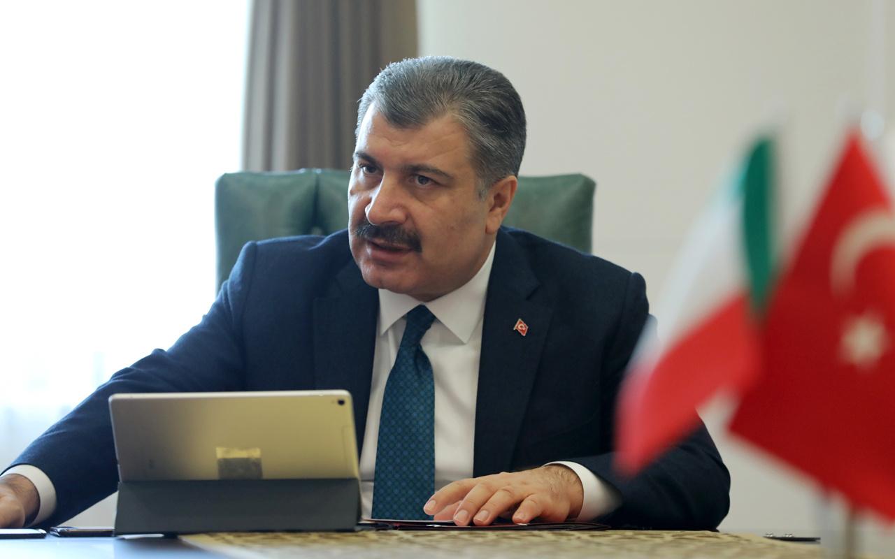 Sağlık Bakanı Fahrettin Koca açıkladı! Corona virüsle ilgili gelişme