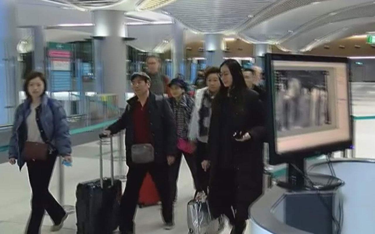 Çin'den gelen yolculara İstanbul Havalimanı'nda koronavirüs kontrolü yapıldı